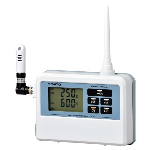 【(株)佐藤計量器製作所】無線温湿度ロガー  SK-L700R-TH:子機