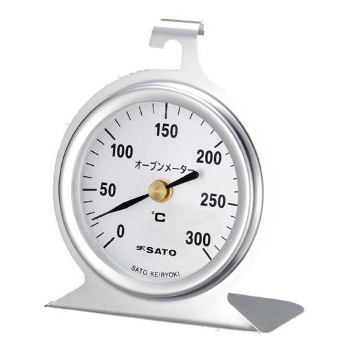 【(株)佐藤計量器製作所】キッチン用温度計  オーブンメータ