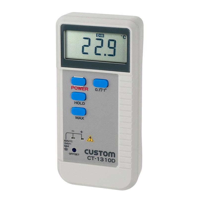 【�潟Jスタム】デジタル温度計  CT-1310D:Kタイプ熱電対センサ