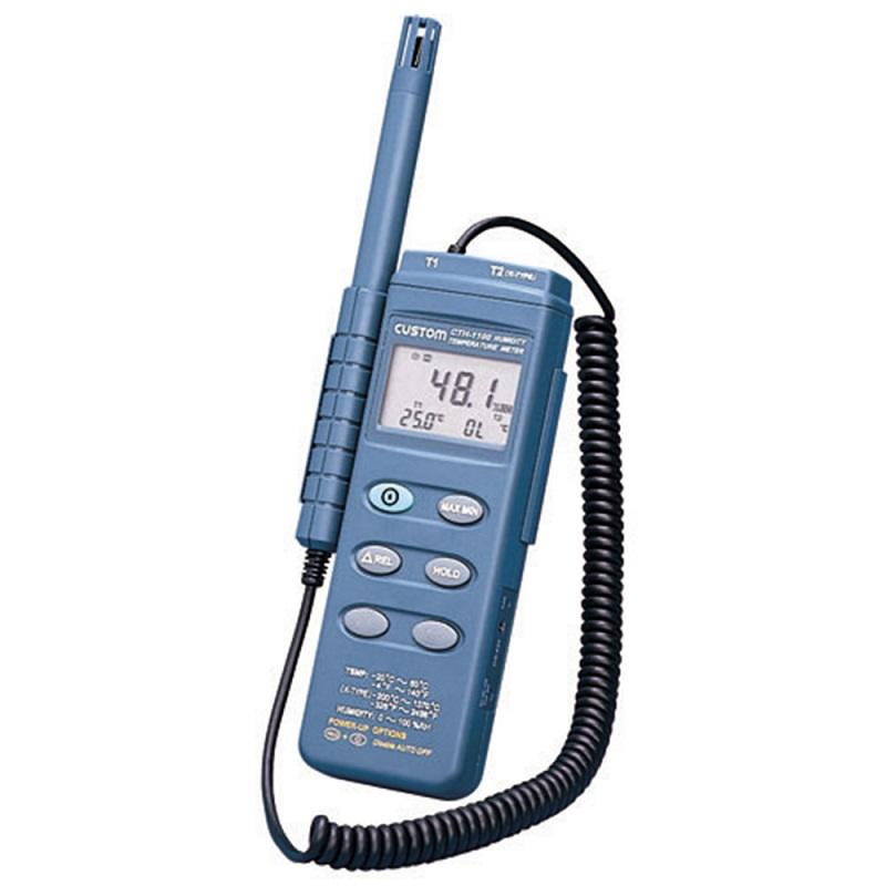 【�潟Jスタム】ポータブル型デジタル温湿度計  CTH-1100