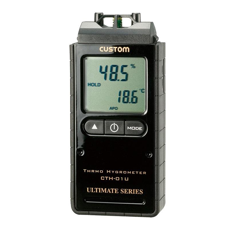 【�潟Jスタム】ポータブル型デジタル温湿度計  CTH-01U