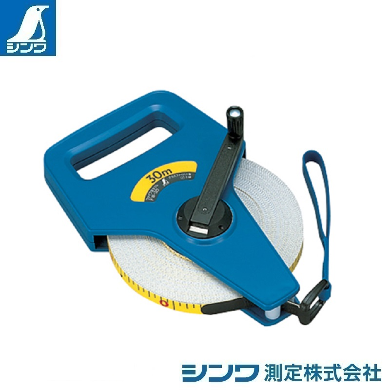 【シンワ測定�梶z78184:巻尺 グラスファイバー製 FW-30:30m・JIS適合品